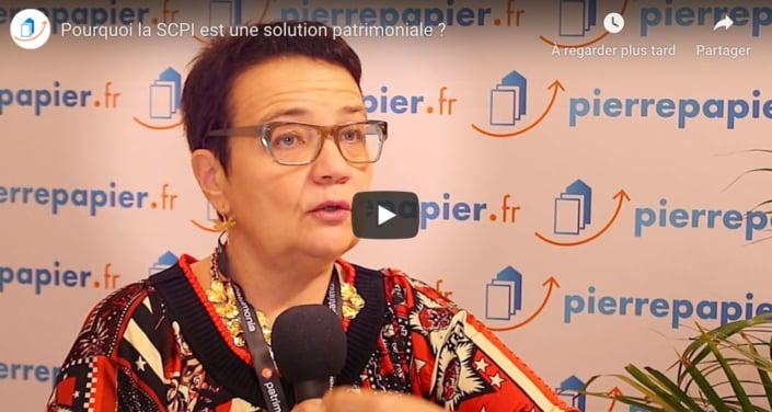 Sonia Fendler - SCPI, une solution patrimoniale