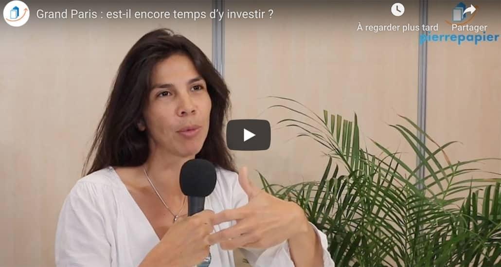 Virginie Wallut - Grand Paris : est-il encore temps d'y investir ?
