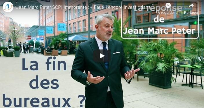 Jean-Marc Peter : « Le bureau, c'est l'endroit où l'on fait avancer sa société et LA société »