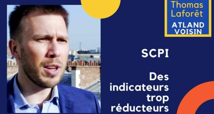 Thomas Laforêt, Atland Voisin : « Certains indicateurs, autour desquels se cristallise la communication des SCPI, nous semblent trop réducteurs… »